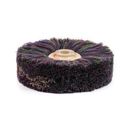 Cepillos de lana multicolor para abrillantar