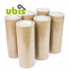 Precinto papel kraft eco reciclado 50mm x 50 mts UBIS
