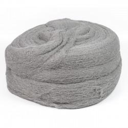 Lana de acero estropajo pulir y abrillantar metal - Rollo 6 kg