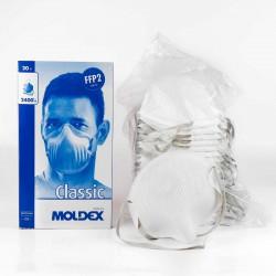 Mascarilla Moldex 2400 FFP2 N95 con válvula - Caja 20 uds