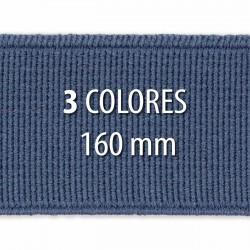 Elástico liso 160 mm - Rollo 25 metros