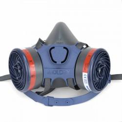 Pack Máscara Moldex 7002 + 2 filtros 9200 A2 gases