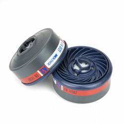 Filtro máscara gases y vapores Moldex 9200 A2 - Pack 2 uds