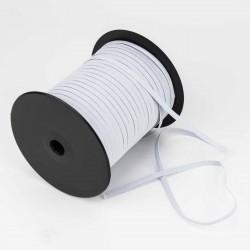 Goma elástica blanca 4 mm Ref. nº4 - Rollo 125 mts