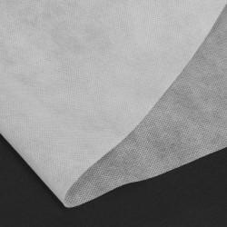 10 x 1.6 mts Tela no tejida blanca 50 g/m² TNT Non Woven polipropileno Para mascarillas