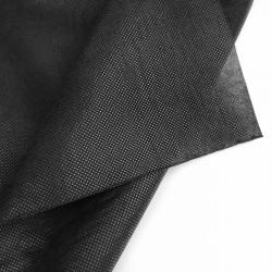 10 x 1.6 mts Tela no tejida Negra 50 g/m² TNT Non Woven polipropileno Para mascarillas