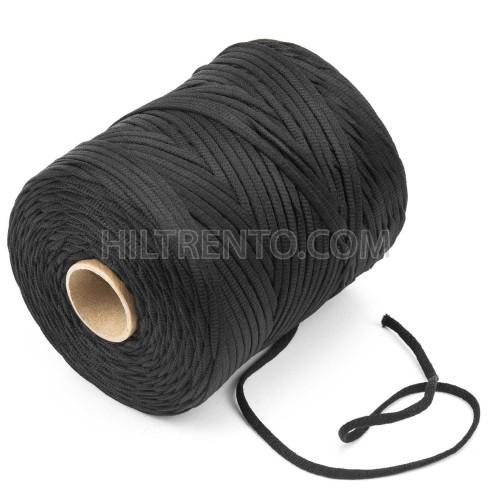 200 mts elástico 5 mm flojo suave col. negro ref.7
