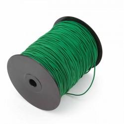 Cordón elástico Verde 2 mm - Rollo 300 mteros