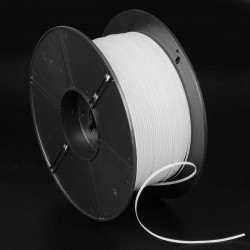 Alambre twist 3 0.42 mm plastificado clip nasal nariz mascarillas, para máquinas automáticas - Rollo 1000 metros
