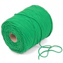 500 mts cordón elástico 3 mm flojo suave col. Verde
