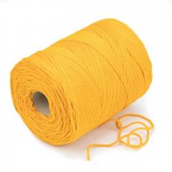 500 mts cordón elástico 3 mm flojo suave col. Amarillo huevo