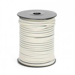 Cordón náutico cuero hielo 3.5 mm - Carrete 50 mts