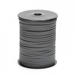 Cordón náutico cuero gris carbón 3.5 mm - Carrete 50 mts