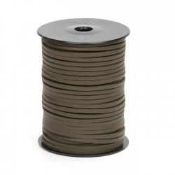 Cordón náutico cuero kaki 3.5 mm - Carrete 50 mts
