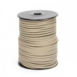 Cordón náutico cuero beige 0050 3.5 mm - Carrete 50 mts
