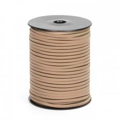 Cordón náutico cuero cuerda 3.5 mm - Carrete 50 mts