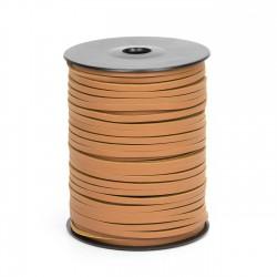 Cordón náutico cuero avellana 3.5 mm - Carrete 50 mts