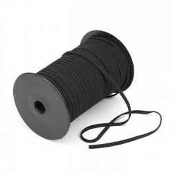 100 mts Elástico crochet blando 4 mm Negro para mascarillas