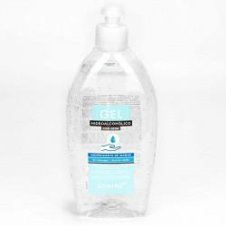Gel hidroalcoholico desinfectante aloe vera con tapon dispensador - 500 ml