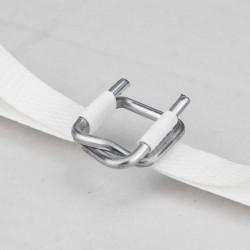 Hebilla metálica atar y sujetar fleje de 12-13 mm - Pack 1000 uds