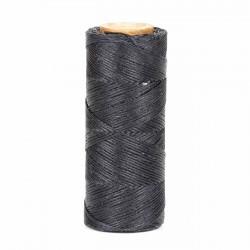 Hilo encerado 1 mm nylon (Poliamida 6.6) - Col. Azul marino - Bobina 100 mts