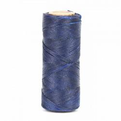 Hilo encerado 1 mm nylon (Poliamida 6.6) - Col. Azulón - Bobina 100 mts
