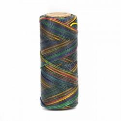Hilo encerado 1 mm nylon (Poliamida 6.6) - Col. Multicolor- Bobina 100 mts