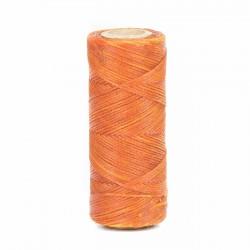 Hilo encerado 1 mm nylon (Poliamida 6.6) - Col. Naranja- Bobina 100 mts