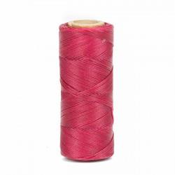 Hilo encerado 1 mm nylon (Poliamida 6.6) - Col. Fuxia- Bobina 100 mts