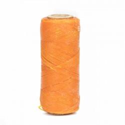 Hilo encerado 1 mm nylon (Poliamida 6.6) - Col. Amarillo- Bobina 100 mts