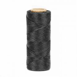 Hilo encerado 1 mm nylon (Poliamida 6.6) - Col. Negro- Bobina 100 mts