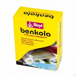 Benkola - Cola para papeles pesados y vinílicos 150 g