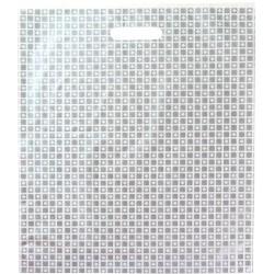 Bolsa plástico comercios asa lazo 45 x 45 cm